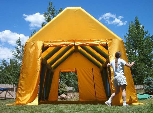 充气帐篷房子